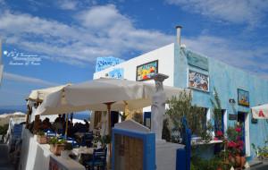 圣托里尼美食-BLUE SKY餐厅