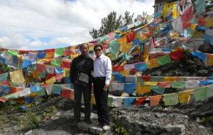 【乡城图片】川藏之旅----五彩的经幡