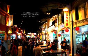 新加坡美食-马来西亚美食街