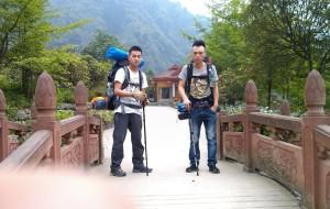 【彭州图片】放不下的九峰山,成功登顶,2014年5月