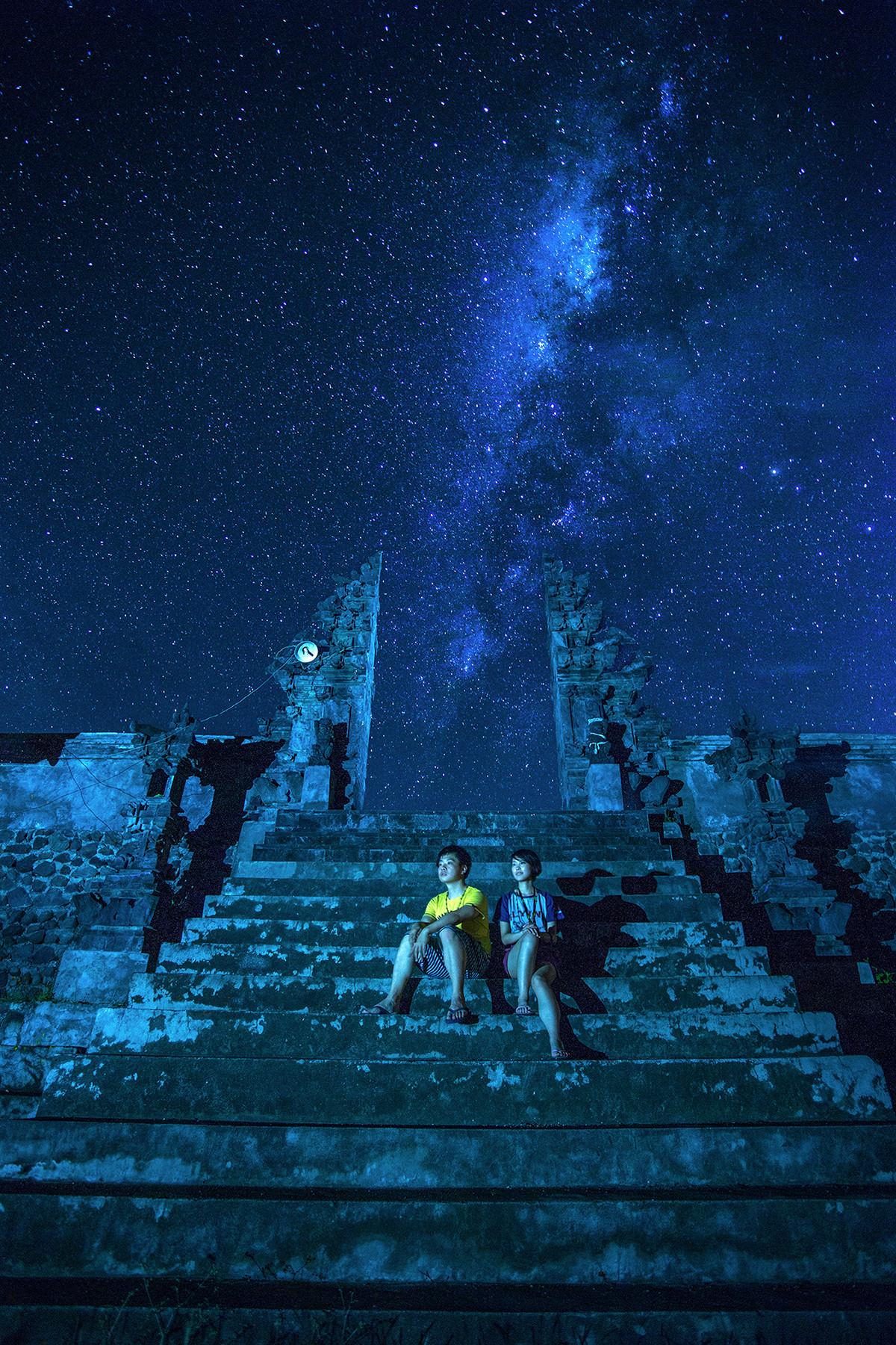 巴厘岛海滩星空之行图片