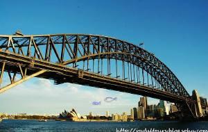 【悉尼图片】繁华似锦的悉尼海港——新南威尔士州之悉尼三