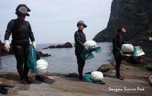 济州岛娱乐-海女表演