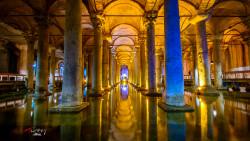 土耳其景点-地下水宫(Basilica Cistern)