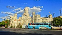 马德里景点-西贝莱斯广场