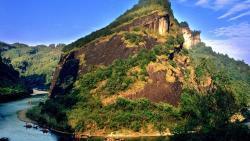 武夷山景点-隐屏峰