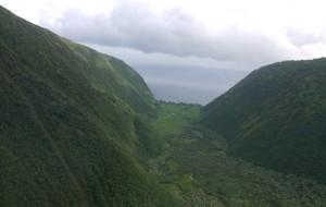 夏威夷娱乐-蓝色夏威夷人直升机环岛游