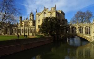 【牛津图片】乘火车游欧洲-英国比利时荷兰丹麦28日-(之六)剑桥,匆匆走过