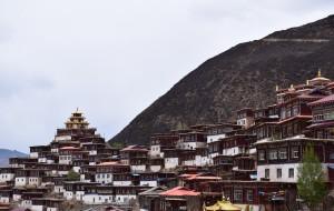 【德格图片】#消夏计划#四月的大雪飘下  川藏北线进藏