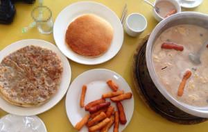 内蒙古美食-罕山奶茶馆