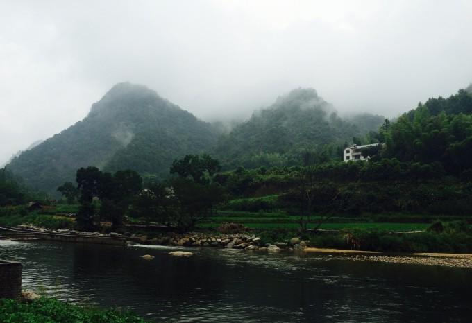 岳西月亮湾风景区