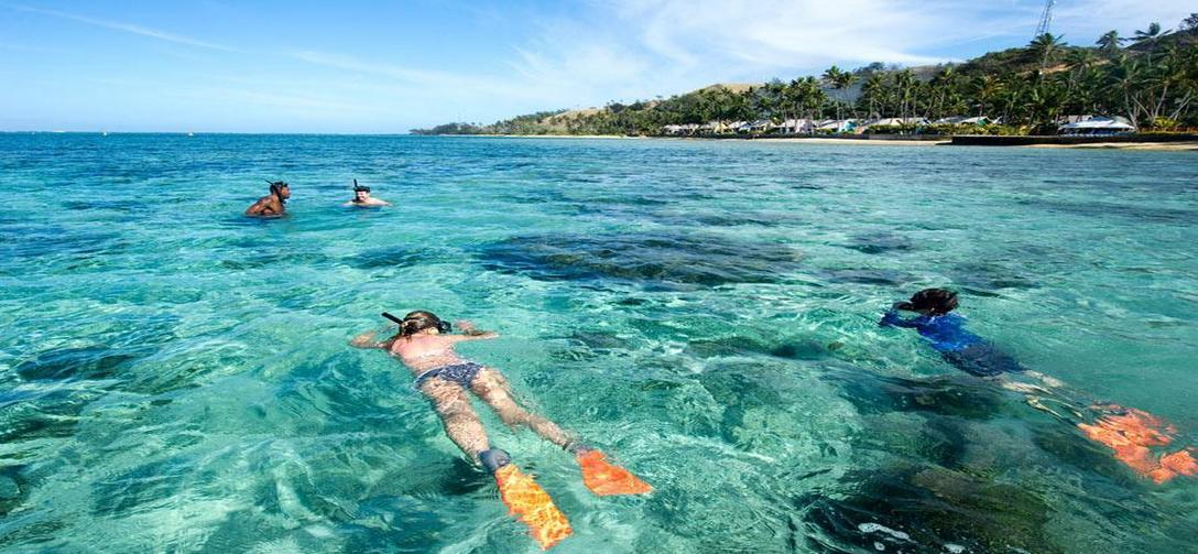 斐济——亲水生态航海一日游