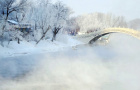 大自然的馈赠吉林雾凇岛一日纯玩游( 摄影天堂+雾凇岛往返直通车+冰上活动+满族四合院+游览时间充足)