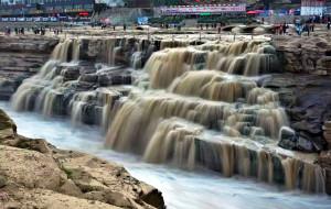 【临汾图片】壶口瀑布:大河东流去 咆哮天地留