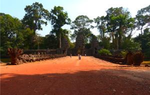 【吴哥窟图片】圣剑寺——奇特的柬埔寨国王家庙