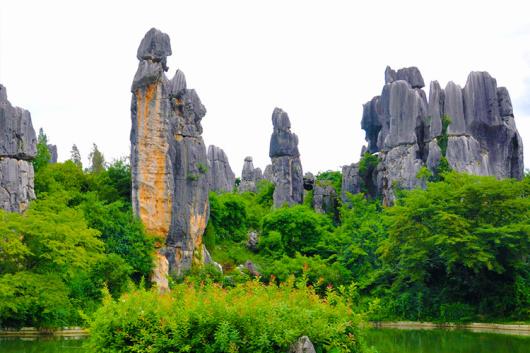 石林风景区又称为云南