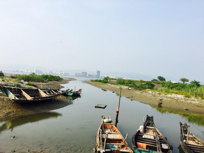 原生态的广东海岛——惠东盐洲岛白沙村白鹭保护区