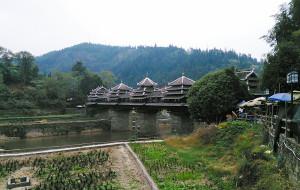 【三江图片】多耶多嘎,走过风雨桥,感受侗乡情