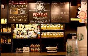 美国美食-第一家星巴克