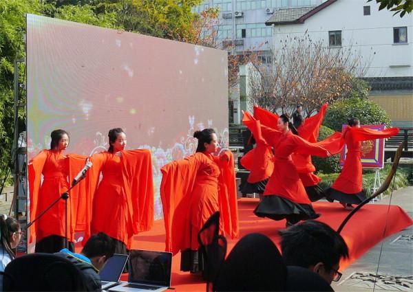12.10宁波海曙汉服文化周开幕式及鼓楼沿-中山公园闲逛