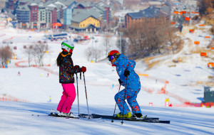 【松花湖图片】万科松花湖滑雪场归来记
