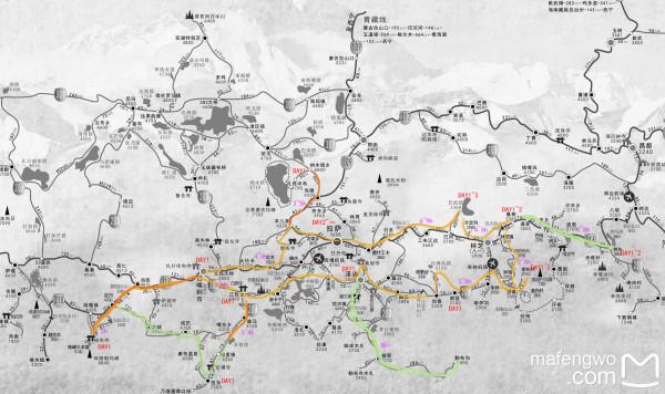藏高原 超详细地图数据超全的攻略图片