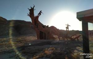 【克拉玛依图片】新疆深度游之九     鬼斧神工的乌尔禾魔鬼城