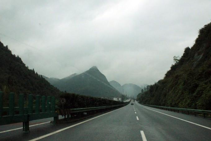 川西高速公路风景图片