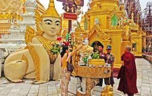 【缅甸图片】在仰光的柔波流转中,做个匆匆过客……2014年夏季六国游记之缅甸仰光篇(附手绘日记)
