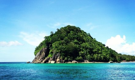 马来西亚沙巴美人鱼岛一日游