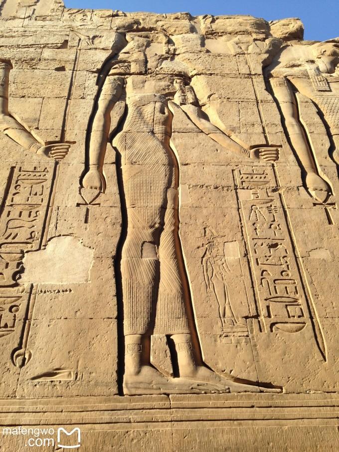 埃及人物浮雕花纹