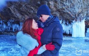 【利斯特维扬卡图片】【高颜值战地小组】春节俄罗斯贝加尔湖美丽深邃蓝冰之旅