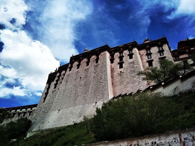 拉萨,布达拉宫,我们来了 -西藏,每一步都是天堂,看一眼便难以