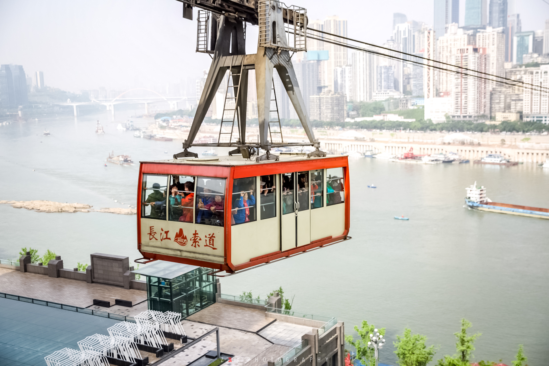 ChongQing Yangtze River Cable Car