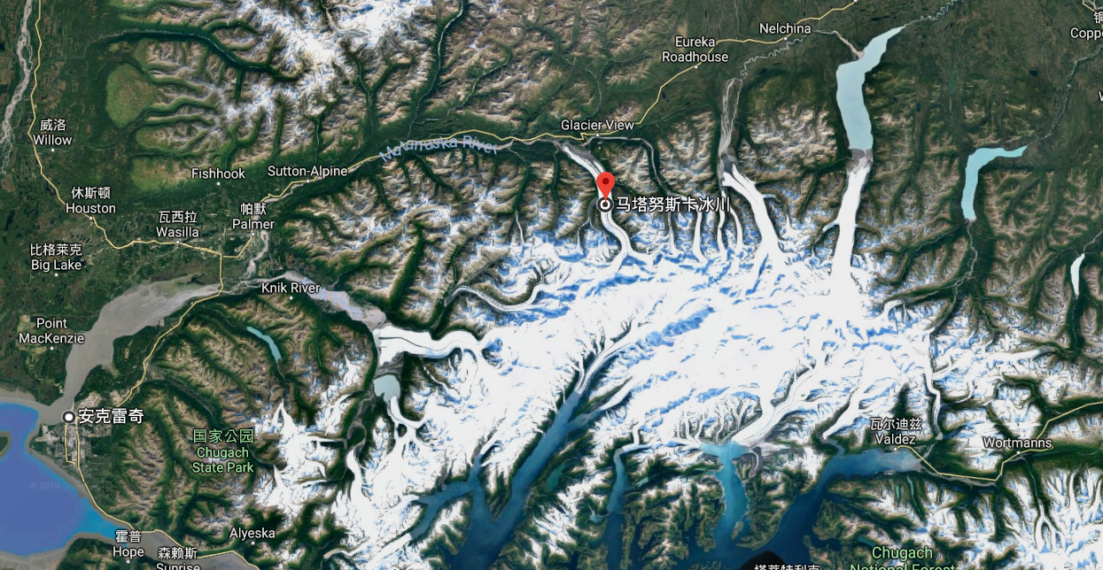 阿拉斯加冰川徒步,亲自踏足这片外太空的幽蓝空间_图3