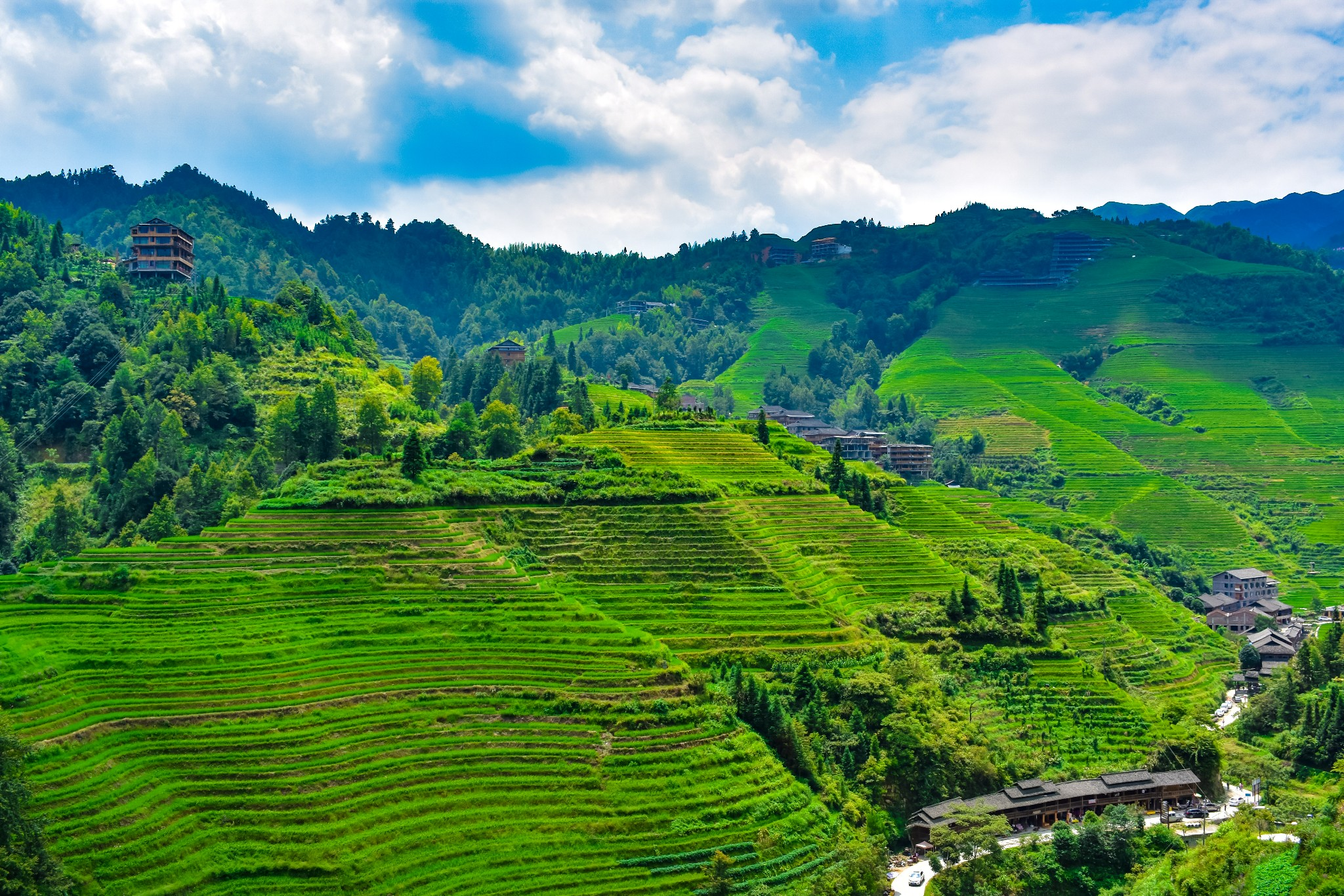 GuiLin LongSheng Rice Terraces Tour