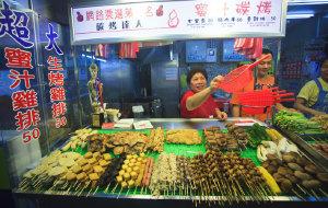 台湾美食-士林夜市