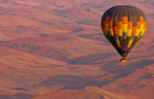 纳米比亚热气球/观赏红沙漠/45号沙丘/大爸爸沙丘/死亡谷/沙海相连